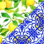 Limoni + Maiolica