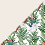 Parrots in Bloom + Ivory